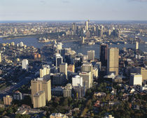 Aerial view of a city, Sydney, Australia by Panoramic Images