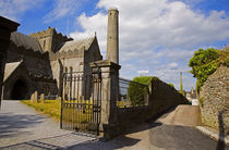 St Canice's Cathedral, Kilkenny City, County Kilkenny, Ireland von Panoramic Images
