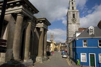 The Butter Exchange and St Anne's Church, Shandon, Cork City, Ireland by Panoramic Images