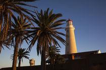 Low angle view of a lighthouse, Punta Del Este, Maldonado, Uruguay von Panoramic Images