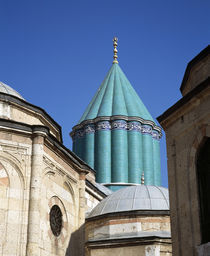High section view of a museum, Mevlana Museum, Konya, Konya Province, Turkey by Panoramic Images