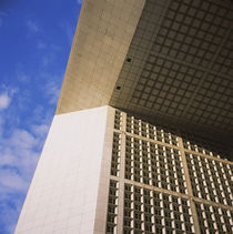Low angle view of a monument, Grande Arche, La Defense, Paris, France by Panoramic Images