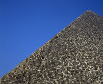 Low angle view of a pyramid, Egypt von Panoramic Images