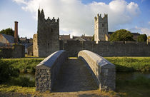 14th Century Town Walls, Fethard, County Tipperary, Ireland von Panoramic Images