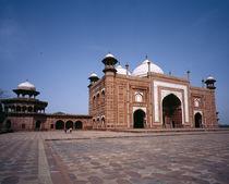 Taj Mahal mosque, Agra, Rajasthan, India by Panoramic Images