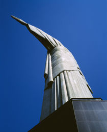 Low angle view of a statue by Panoramic Images