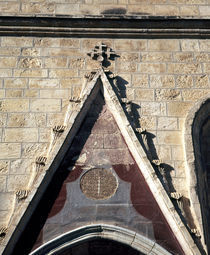Architectural details of a church, Jerusalem, Israel von Panoramic Images