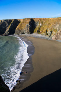 Cove near Bunmahon, The Copper Coast, County Waterford, Ireland von Panoramic Images