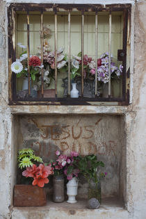 Cemetery detail, Cachi, Salta Province, Argentina by Panoramic Images