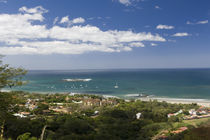 Clouds over the sea, Tamarindo Beach, Guanacaste, Costa Rica by Panoramic Images