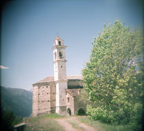 Bell tower in a church von Panoramic Images