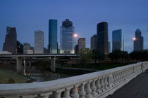 Skyscrapers in a city, Houston, Texas, USA von Panoramic Images