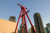 Low angle view of a sculpture, Dallas, Texas, USA by Panoramic Images