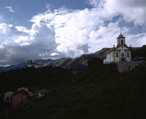 Church on a hill by Panoramic Images