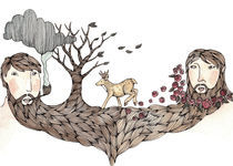 Beard Tree by Brooke Weeber