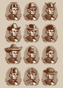 Abe Tries on Hats by Ian Byers