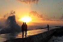 Sunset-walking
