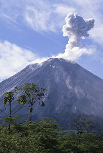 Volcan Arenal by Barbara Magnuson & Larry Kimball