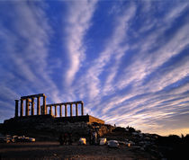 Temple of Poseidon by George Grigoriou