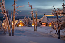 Winter Lodge von Scott Spiker