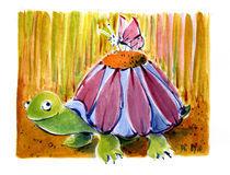 Antje Püpke . Sonniges Gemüt - Turtle by Antje Püpke