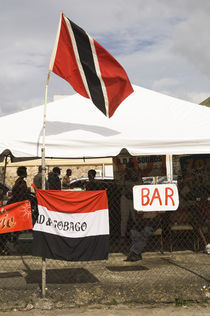 A makeshift bar in the Port of Spain carnival in Trinidad. by Tom Hanslien
