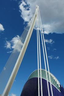 Valencia, Puente l'Assut und Ágora von Frank Rother
