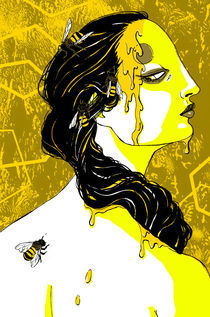 Beauty and the Bees by Julia Minamata