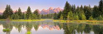 Schwabacher Landing Panorama by Ben Bolden