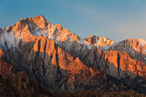 Sierra in Morning Light von Lee Rentz