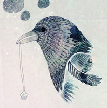 'Thievish Magpie' von Julia Humpfer