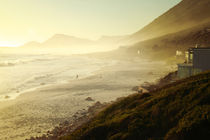 Misty Cliffs, Cape Peninsula, South Africa by Eva Stadler