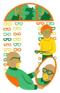 O as Optician by Anastassia Elias