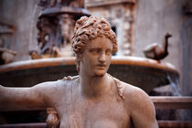 Sculpture, piazza Pretoria fountain by Andrey Lavrov