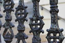 Iron fence von ushkaphotography