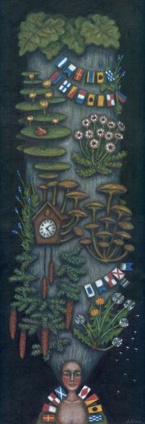 Punctual chignon (Chignon ponctuel) by Anastassia Elias