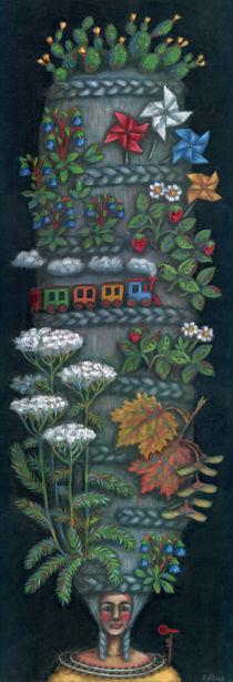 Traveler chignon (Chignon voyageur) by Anastassia Elias