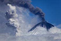 Volcano the Kljuchevsky hill   by Denis Budkov