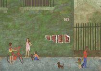 Street (Rue) by Anastassia Elias