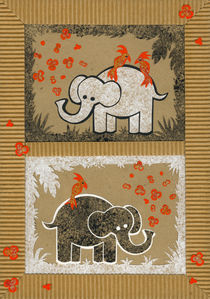 Elephants by Anastassia Elias