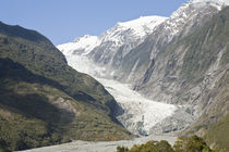 The Franz Joseph Glacier, West Coast by Ross Curtis