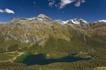 Lake Mackenzie on the Routeburn Track by Ross Curtis