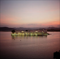 Sunset at Lake Palace. Udaipur, India. by Andrew Kaufman