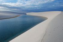 Sand and lagoon von Peter BABILOTTE