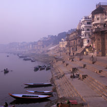 Ganges river, India von Eugene Zhulkov