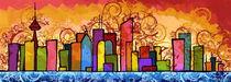 Toronto Cityscape  by masha levene