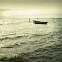 Seaside boat von Eugene Zhulkov
