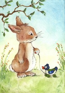 Hase und Ente by Katja Kiefer