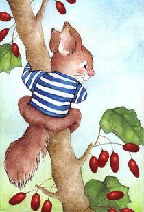 Ein echtes Streifenhörnchen by Katja Kiefer