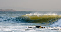 Breaking wave at Freshwater Bay von Jason swain